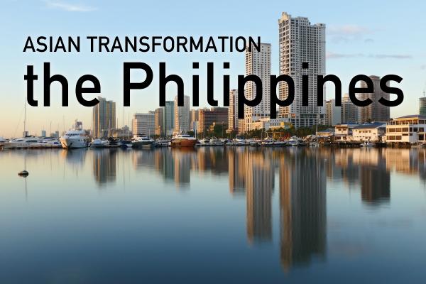 【特集】① ASIAN TRANSFORMATION >> the Philippines