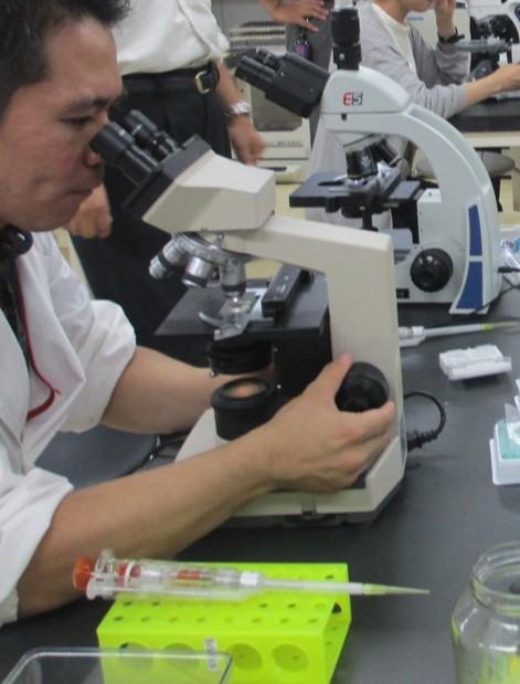 藻類教員研修