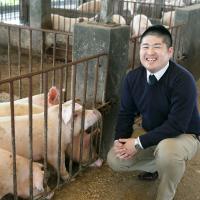 福幸豚ファーム農場長 福田裕士さん