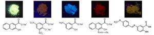 サリチル酸骨格を有する蛍光物質の合成