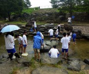 天野川の水質調査(枚方市立さだ中学校 科学部)